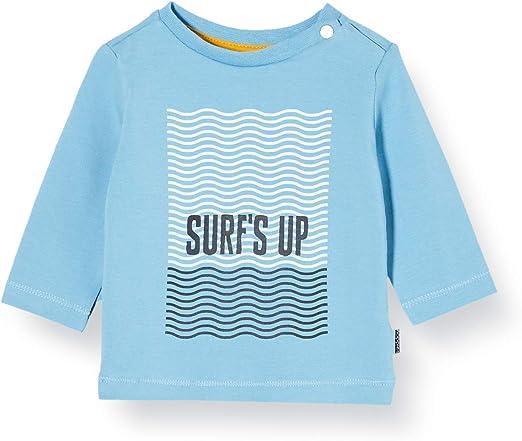 Noppies B Regular T-Shirt LS Aventura AOP Camisa Manga Larga para Bebés: Amazon.es: Ropa y accesorios
