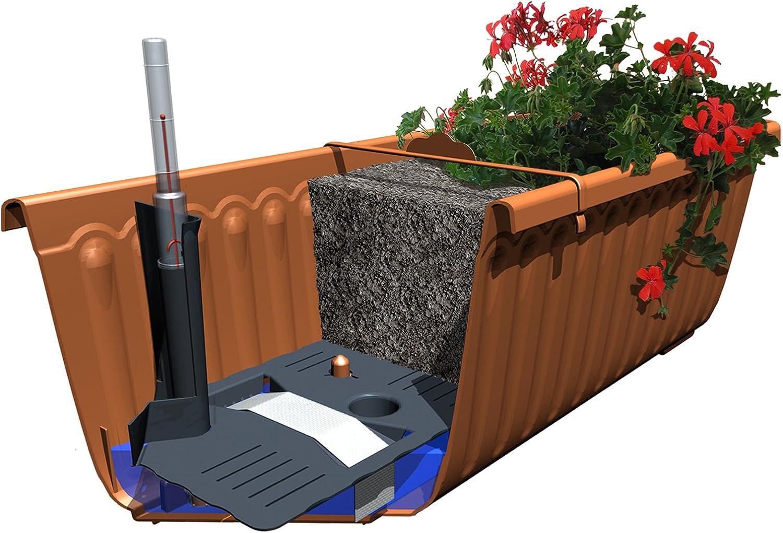 Schumm 1909028024 Siesta Lux - Jardinera de balcón con sistema de ...