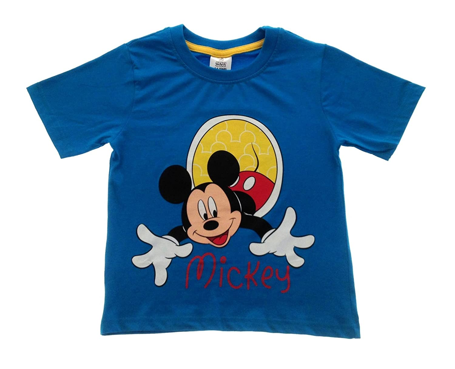 Disney Boys Kids Mickey Mouse T Shirt Top Size UK 1-5 Years