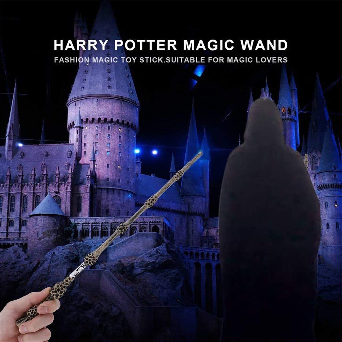 Noradtjcca Cool Metal Core Zauberstab Cosplay f/ür Lord Voldemort//Harry Potter//Ron Weasley//Hermine Granger Zauberstab Exquisite Geschenkbox