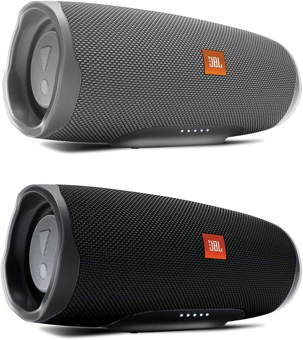 JBL Charge 4 Waterproof Portable Wireless Bluetooth Speaker Bundle