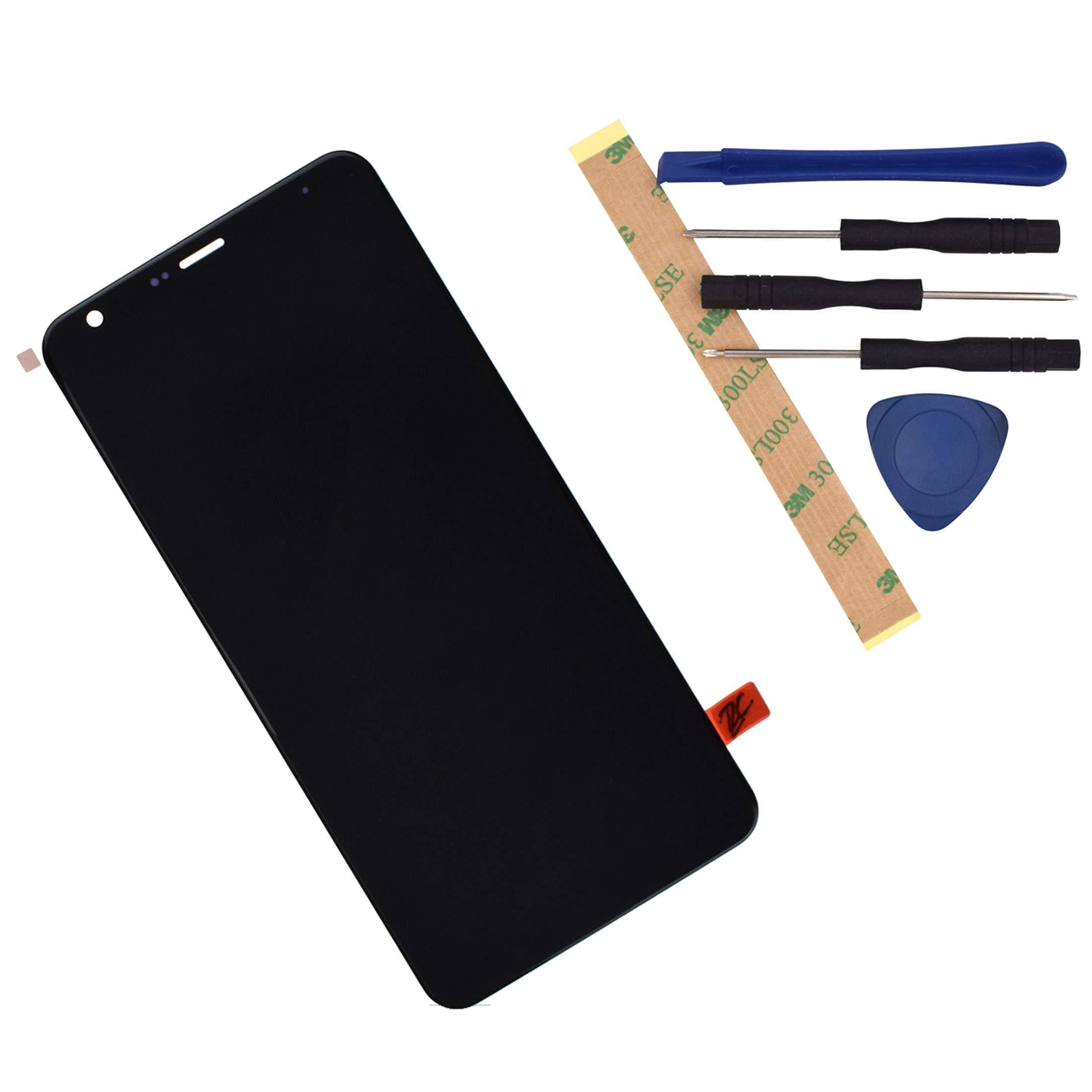 Modulo LCD Negro para LG Q7 2018 LM-Q610 With Frame Adhesive