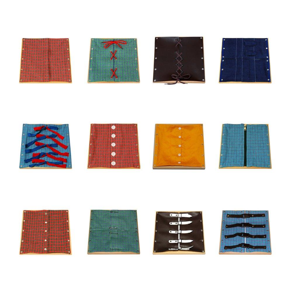 Montessori 12 Dressing Frames