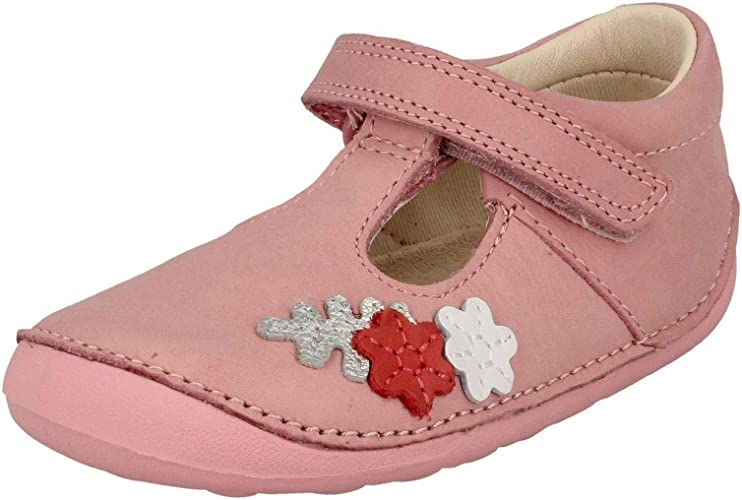 Clarks Girls First T-Bar Shoes Tiny