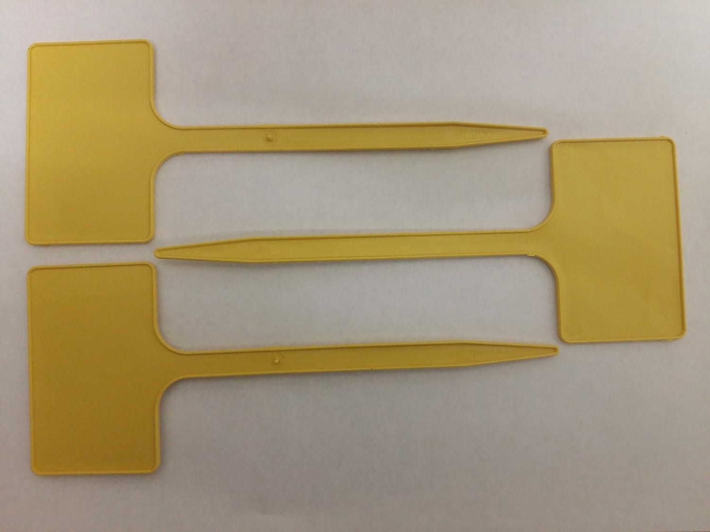 25 x Yuzet T marcadores de etiquetas amarillo etiquetas de ...