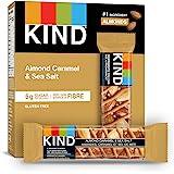 KIND Fruit & Nut Caramel Almond Sea Salt, Gluten Free, Low Sugar, 1.4 Ounce, 5 Count