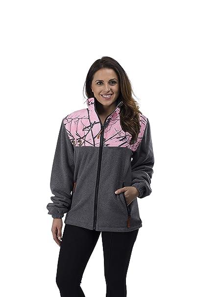 Amazon.com: Trail Crest - Chaqueta de forro polar para mujer ...