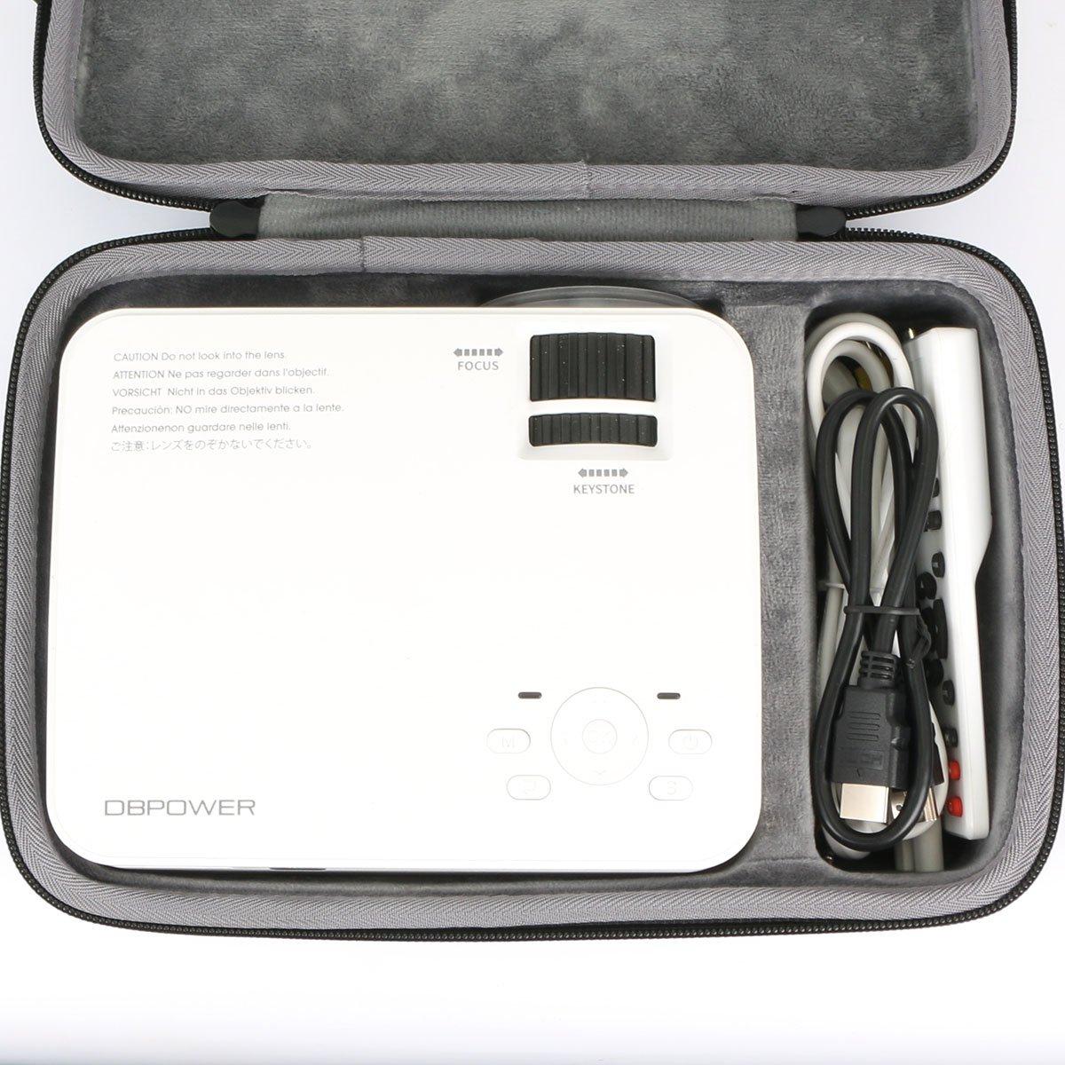 Duro Viajar Caso Cubrir para DBPOWER T20 Mini Proyector LCD ...
