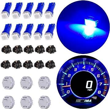 6x X27.168 Stepper Motor Gauge Speedometer+10 Bulbs For GMC Chevrolet Repair Kit