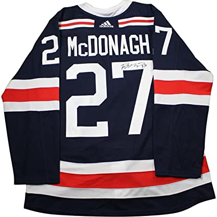 Image Unavailable. Image not available for. Color  Ryan McDonagh New York  Rangers Signed 2018 NHL Winter Classic Jersey f9b1b6450