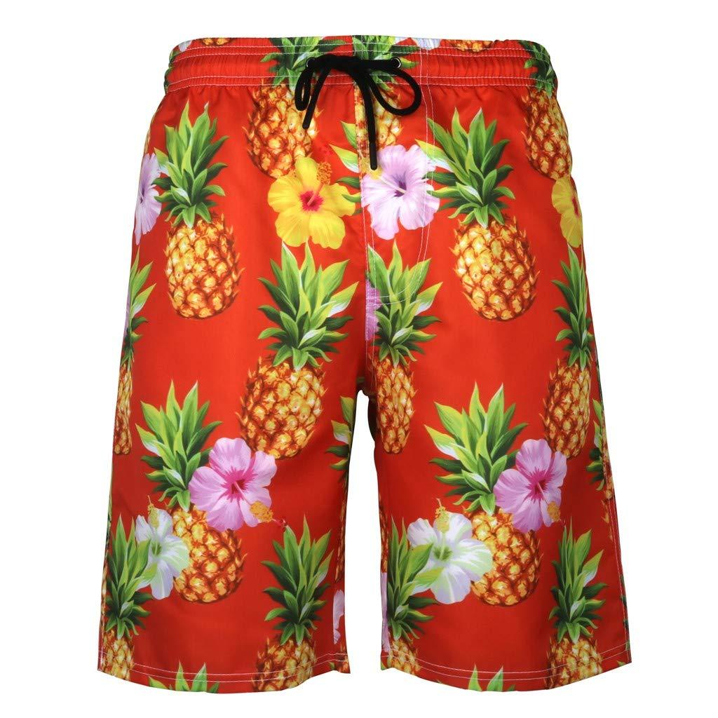 Oyedens Design for Men,Mens Summer Swim Trunks 3D Print Graphic Casual Athletic Beach Short Pants