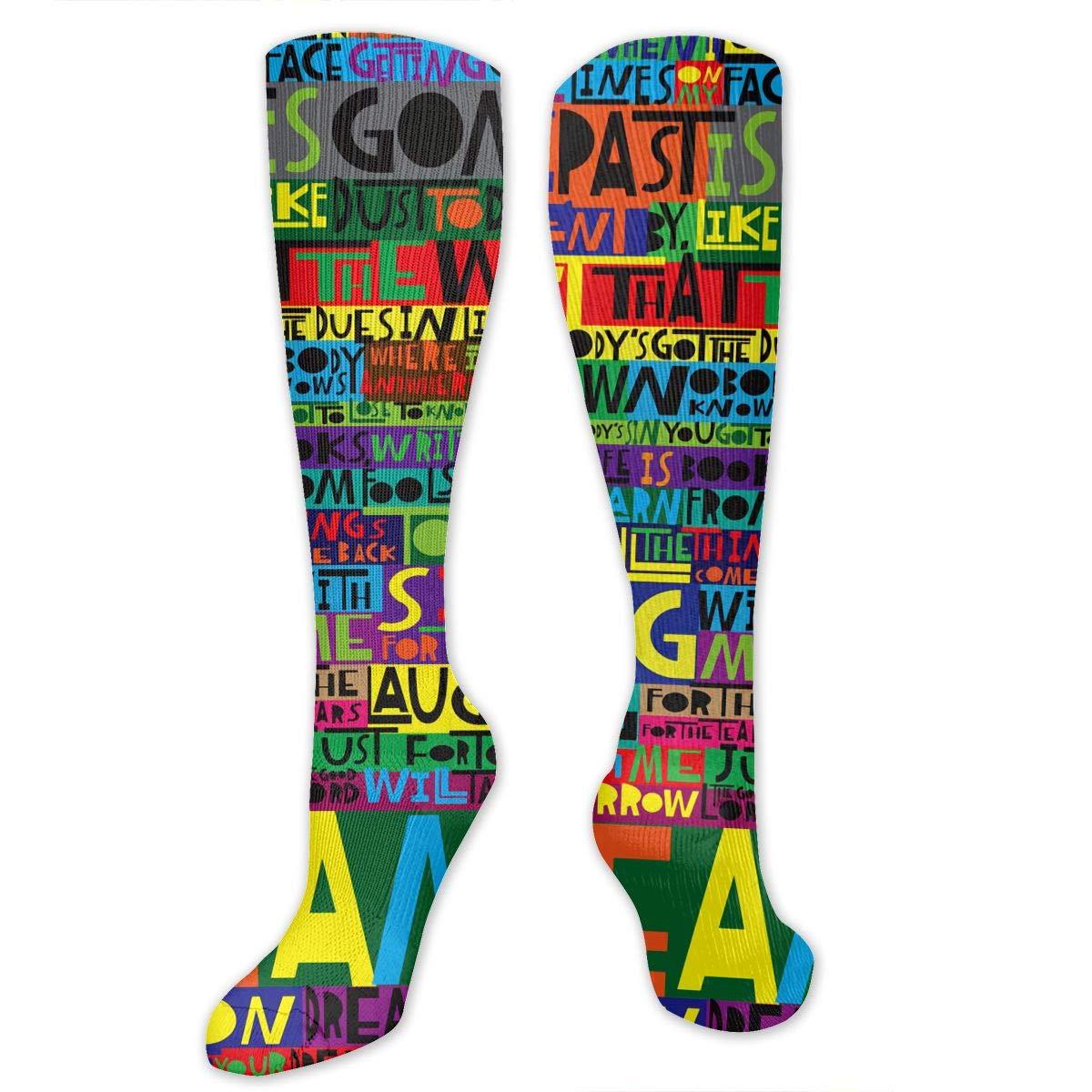 Hue Women/'s Knee High Socks Chevron One Size