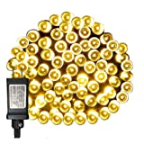 Amazon Price History for:WED 33ft 100 Led String Lights, Warm White, 8 Mode Waterproof Fairy String Lights for Christmas Indoor and Outdoor Decorative