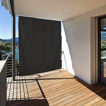 Balkon Sonnenschutz amazon de balkon sichtschutz vertikal balkonsichtschutz zum