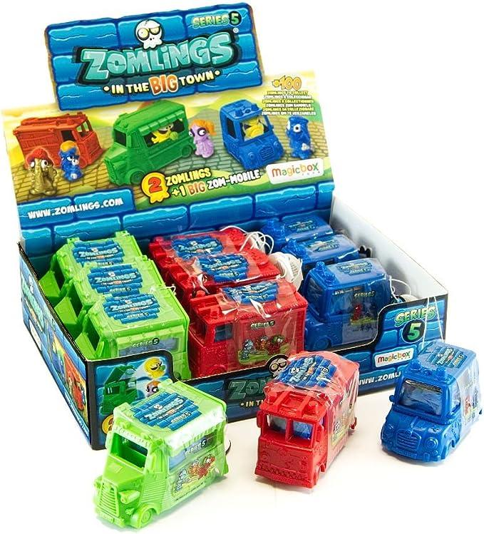 ZOMLINGS 14913 Serie 5 Big Zom - Juego de 12 Juguetes para vehículos: Amazon.es: Juguetes y juegos