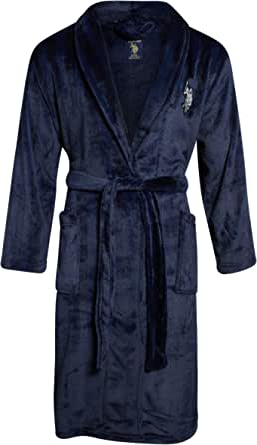U.S. Polo Assn. Men's Super Soft Plush Robe