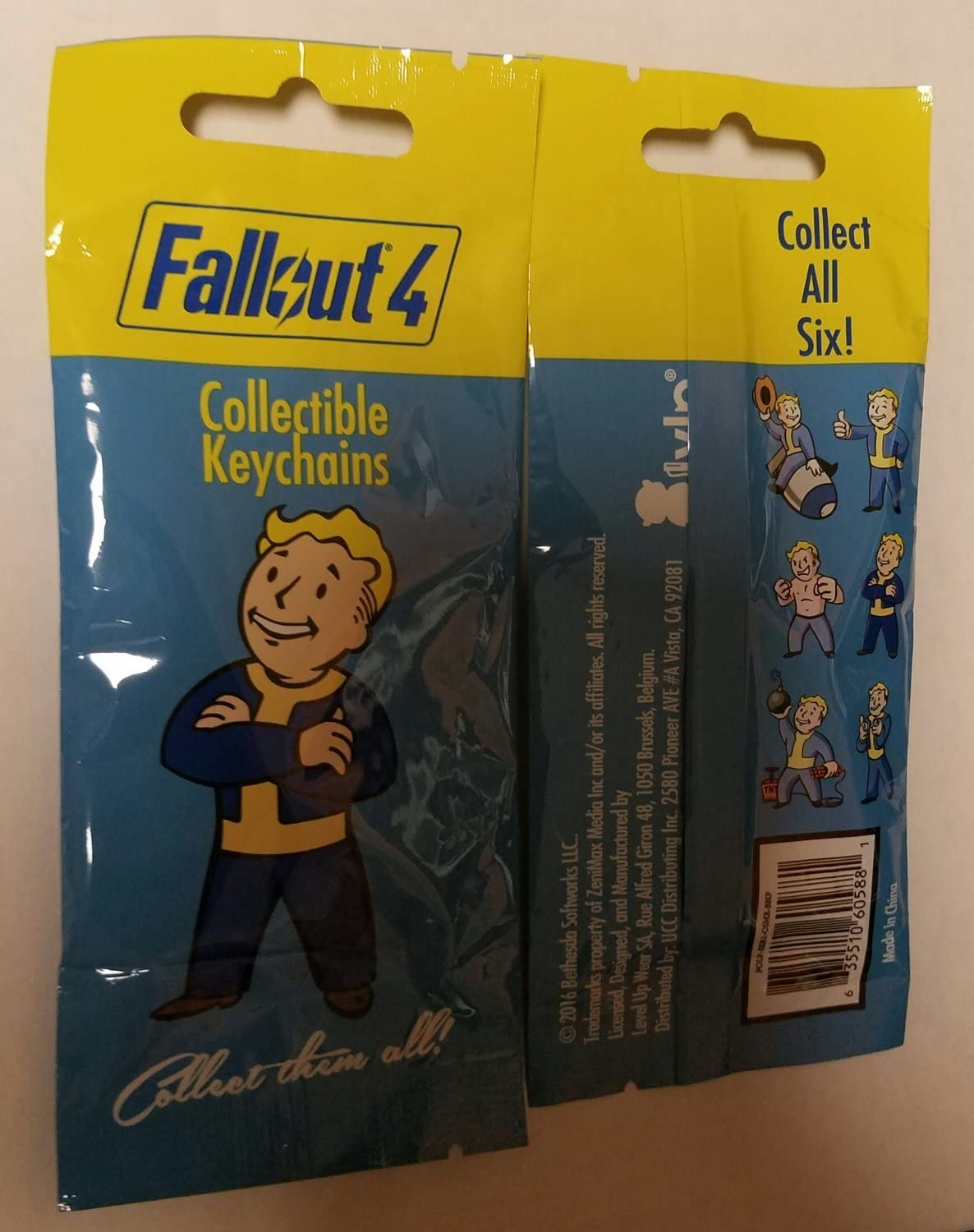 4 x FALLOUT FUNKO MYSTERY MINIS VINYL FIGURES BLIND BOXES BRAND NEW AND SEALED