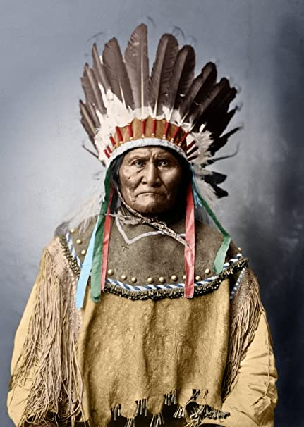 Image result for Geronimo in 1909