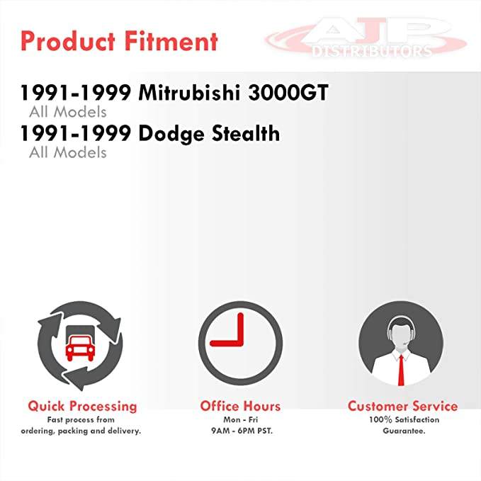 Replacement Parts For Mitsubishi 3000GT Dodge Stealth JDM Manual ...