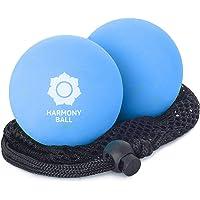 Set de 2 pelotas de masaje de caucho