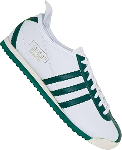 agudo seco Competidores  Adidas Italia 1960 Shoes wht/forest/ecru 13, 0 US / 12.5 UK: Amazon.co.uk:  Shoes & Bags