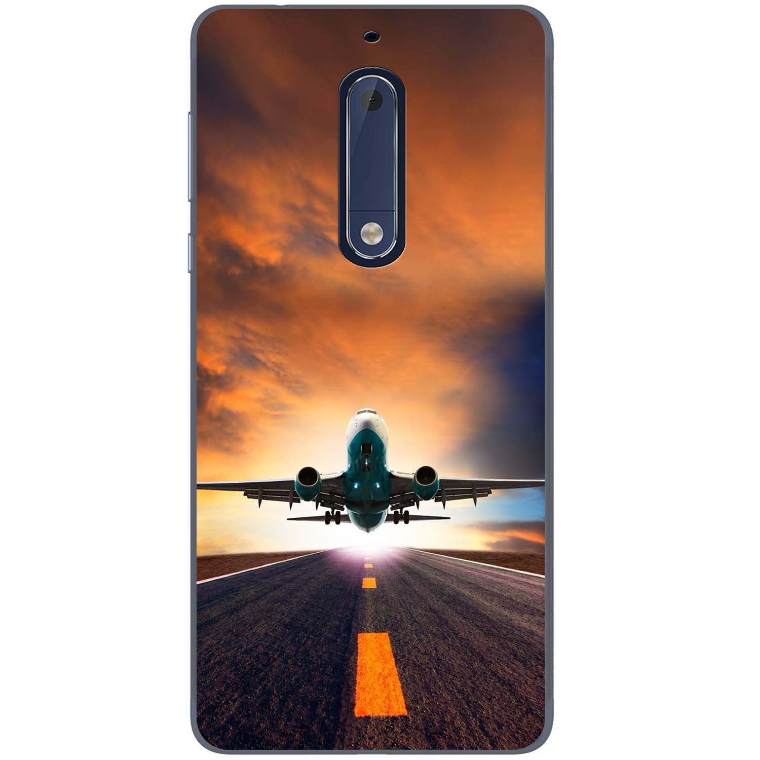 Commercial Jet Takes Off Fancy A Snuggle Planes avions avions t/él/éphone Housse//Coque rigide pour t/él/éphone portable Samsung Samsung Galaxy S9