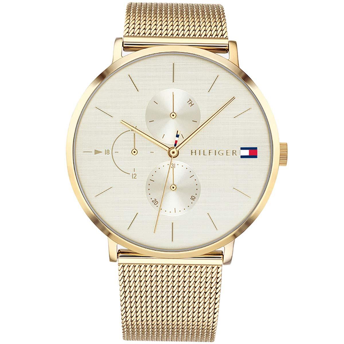Amazon.com: 1781943 Tommy Hilfiger Jenna Ladies Analog White Sport Quartz Tommy Hilfiger: Watches