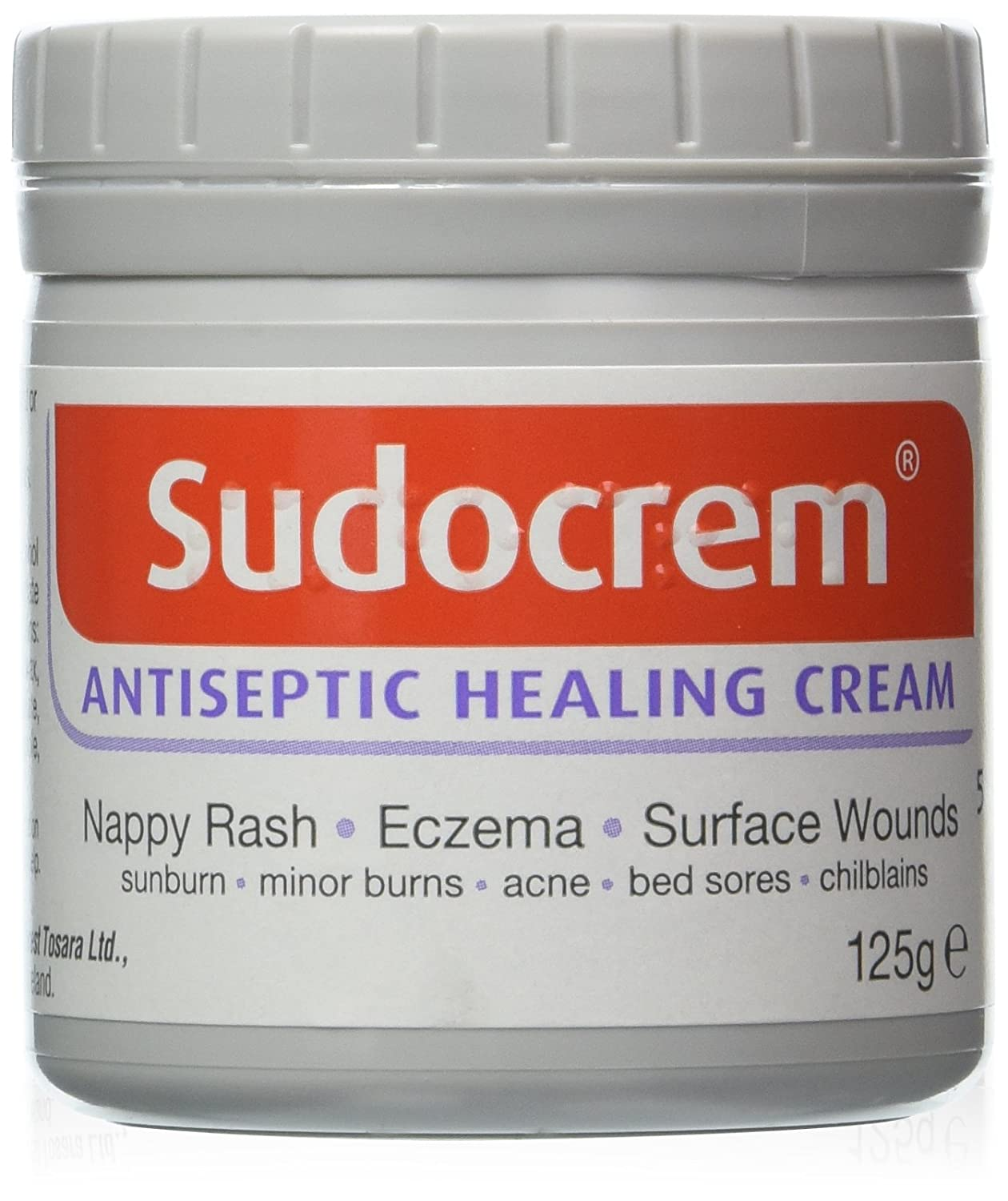 Sudocrem Antiseptic Cream. 4 Pack x 125G