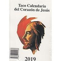 Calendario Taco Pared Sagrado Corazón 2019