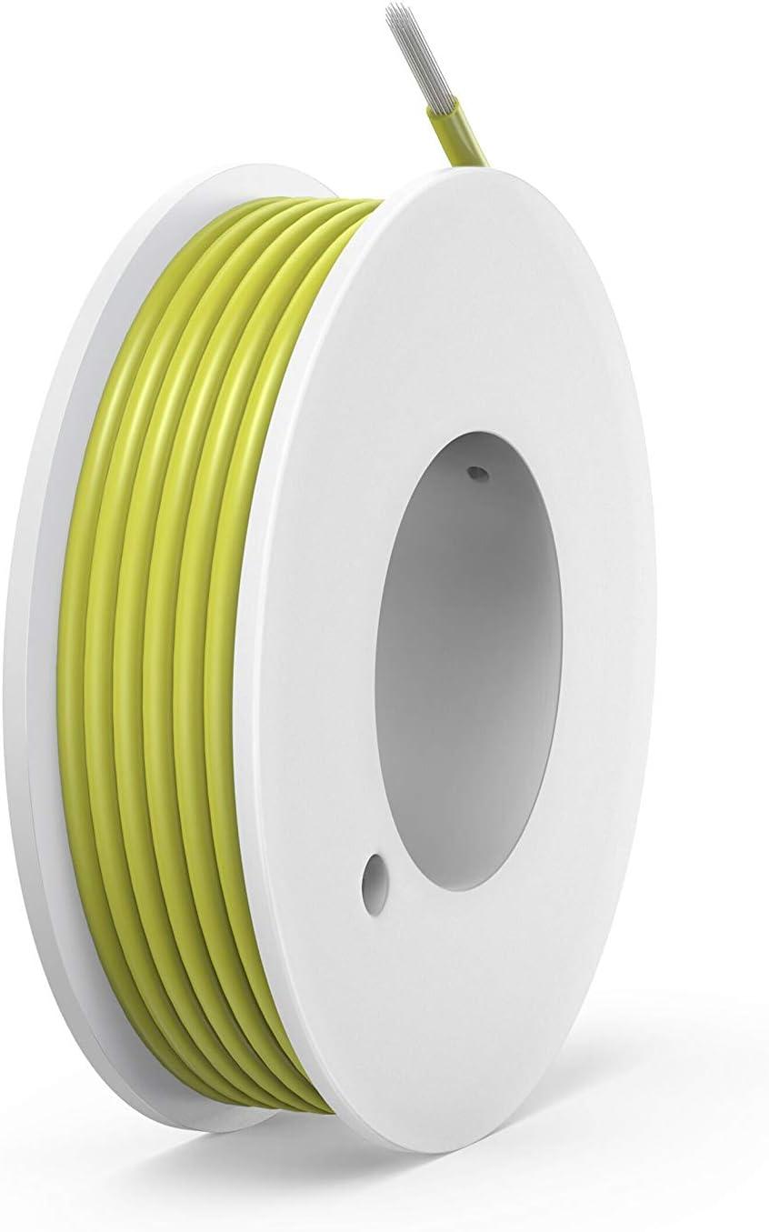 NorthPada 28 AWG 0,08mm/² Alambres el/éctricos Kit Silicona Cable de cobre esta/ñado para placa de circuito impreso PCB 6 Colores 200V 0,8A 78 Metros