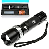H&S® Super Bright CREE T6 LED Police Torch Flashlight Camping Light