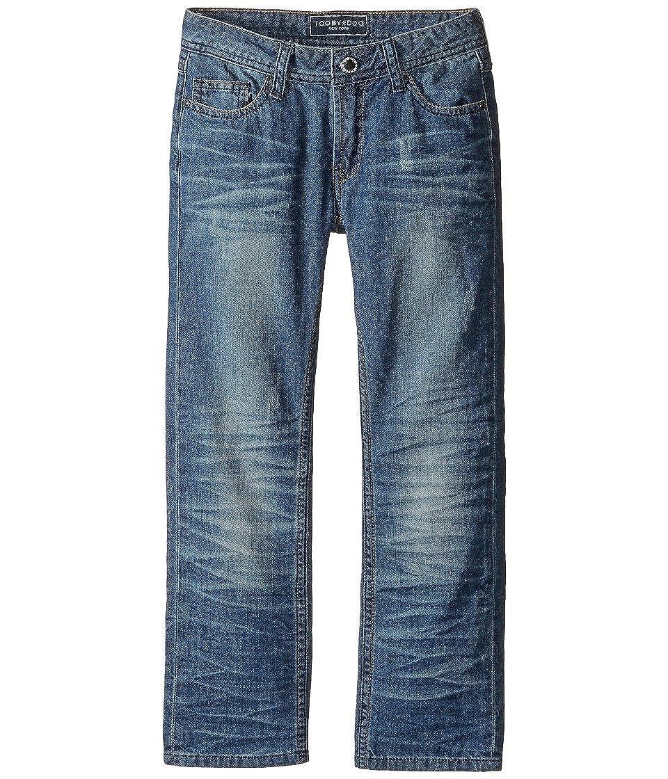 Toobydoo Mens Blue Denim Jeans in Denim Toddler//Little Kids//Big Kids