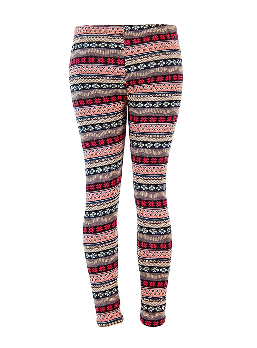 b682e10a18bdf6 Womens Christmas Warm Leggings Snowflake Reindeer Print Tights High Waist  Stretchy Long Pants at Amazon Women's Clothing store: