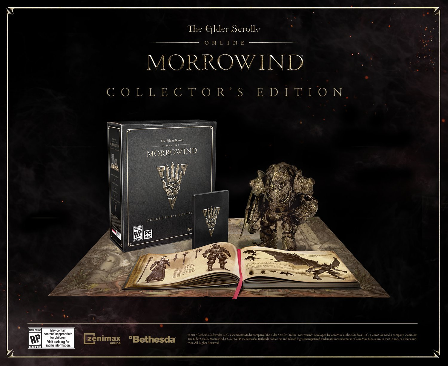 The Elder Scrolls Online: Morrowind Collector's Edition - PC