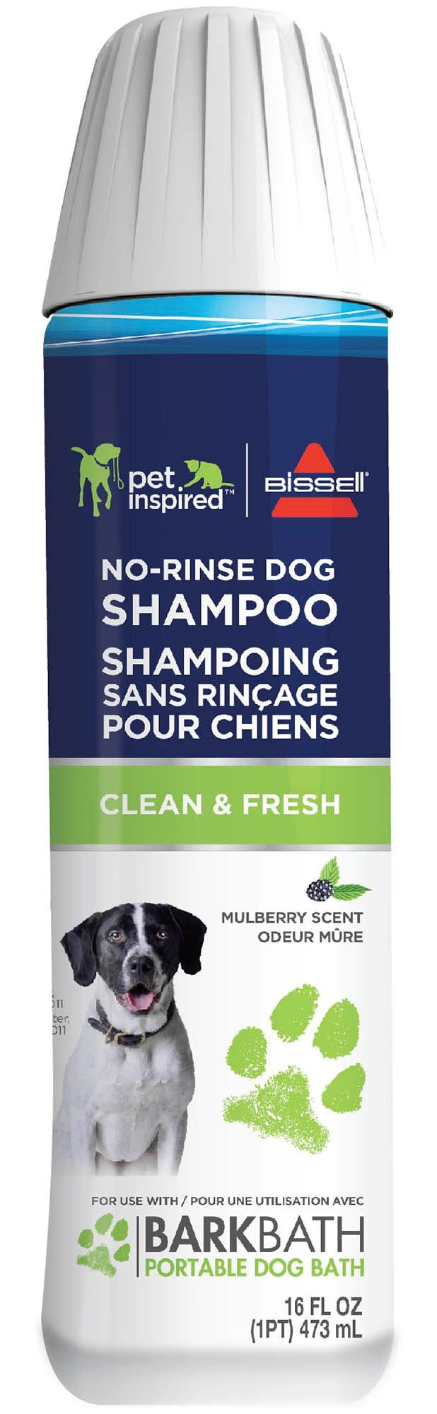 Bissell Clean & Fresh No Rinse Dog Shampoo (2 Pack), 2178A by Bissell (Image #1)