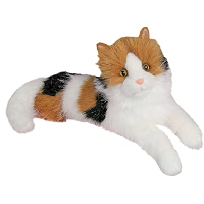 Cuddle Toys 2030 48 cm Long Puzzle Calico Cat Plush Toy: Toys & Games