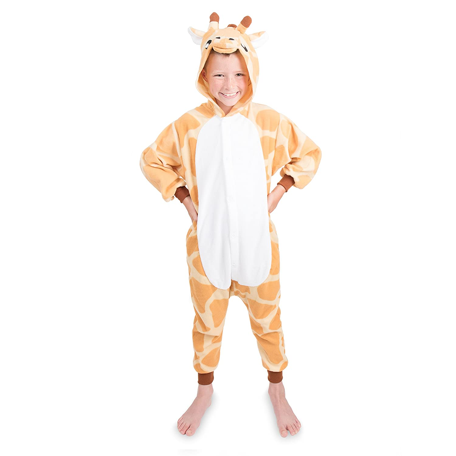 Kids Animal Giraffe Pajama Onesie - Soft and Comfortable with Pockets e209024ef
