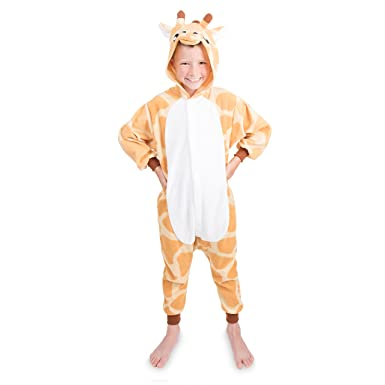ba813d9e84 Emolly Fashion Kids Animal Giraffe Pajama Onesie - Soft and Comfortable  with Pockets (4