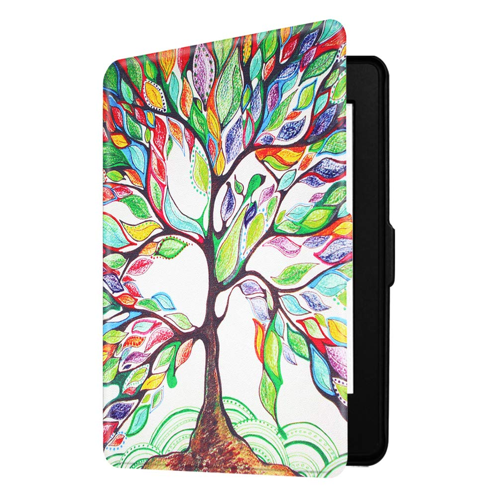 quality design 63da1 d5ddb Fintie Slimshell Case for Kindle Paperwhite - Fits All Paperwhite  Generations Prior to 2018 (Not Fit All-New Paperwhite 10th Gen), Love Tree