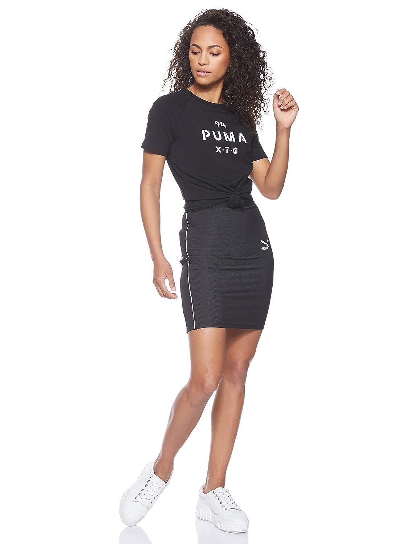 PUMA Classics Rib Skirt Falda, Mujer: Amazon.es: Ropa y accesorios