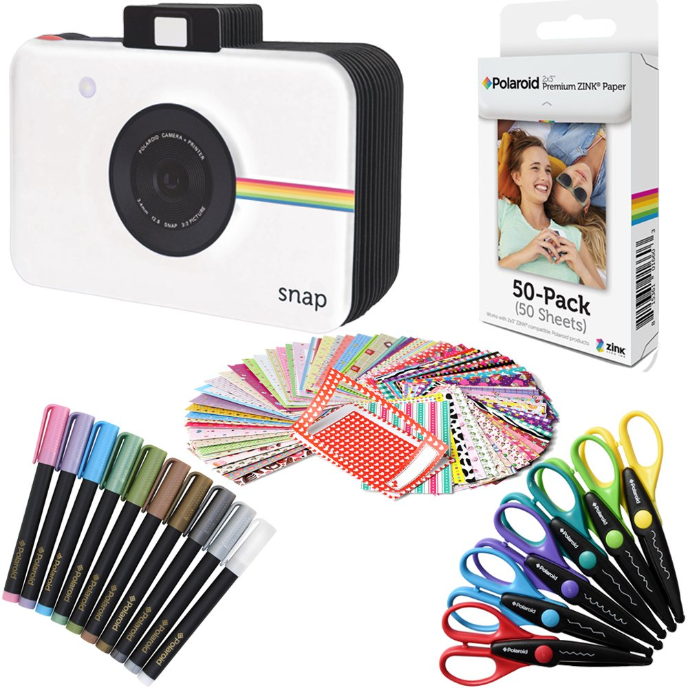 Polaroid 2x3 inch Premium Zink Photo Paper (50 Sheets) (Compatible with Polaroid Mint, Snap, Touch, Zip) by Polaroid