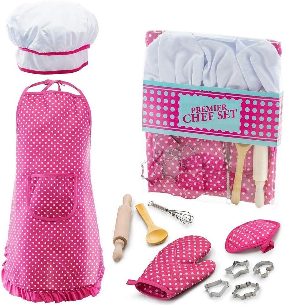 KITY Set da cucina e da forno per bambini ideale come regalo