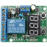DCリレーモジュールコントロールボード12Vスイッチ負荷電圧検出テストモニター