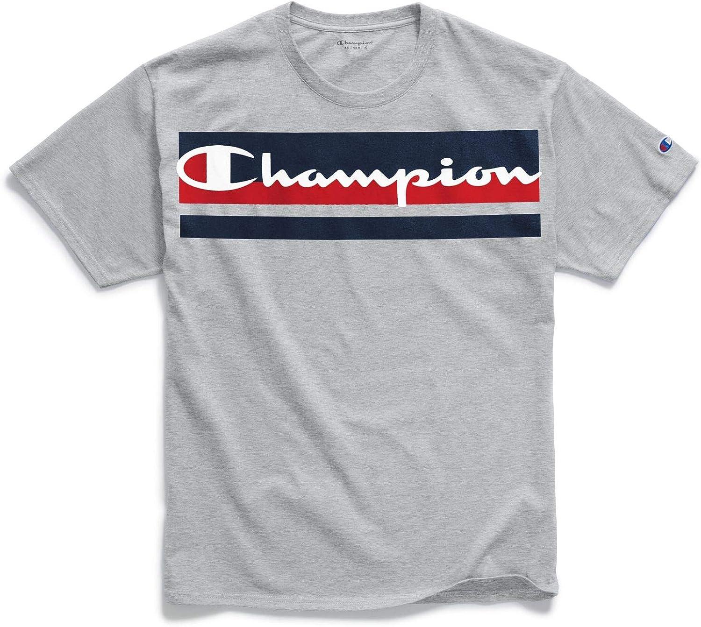 Champion Men's Classic Jersey Graphic Tee