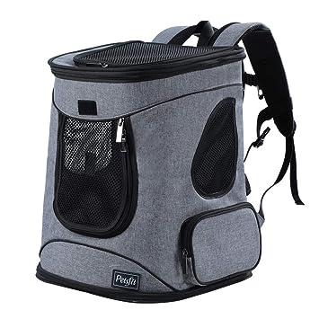 Amazon.com   Petsfit Comfort Dogs Cat Carrier Backpack, Hold Pets up ... b834da0977