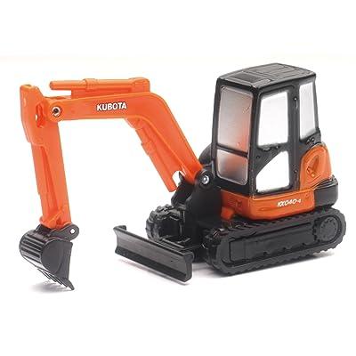 Kubota KX040-4 Excavator (Mini) Pullback: Toys & Games