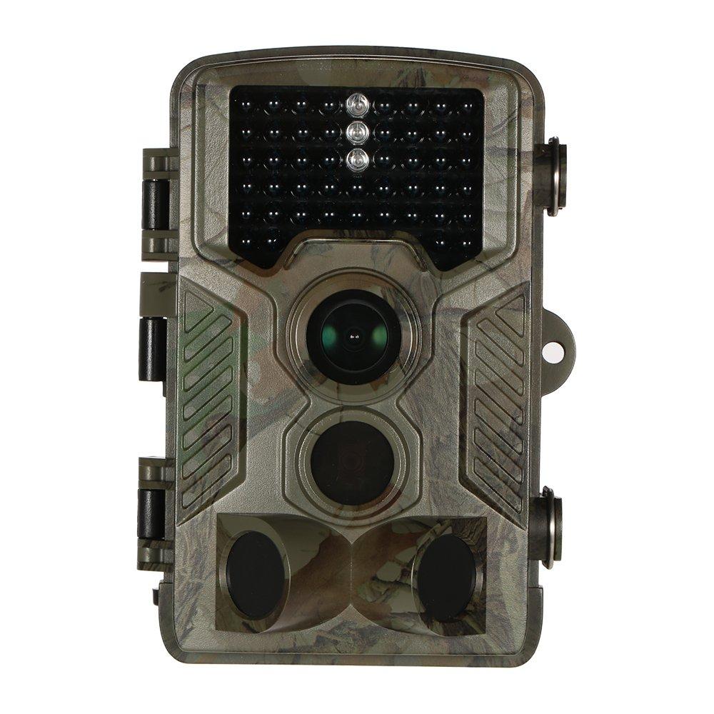 Lixada 16MP 1080P アウトドア 狩猟スカウトカメラ デジタル監視カメラ 120°広角 65°赤外線ナイトビジョン 0.6秒トリガ時間 野生生物トレイル ゲームカメラ B072VJ1JPP