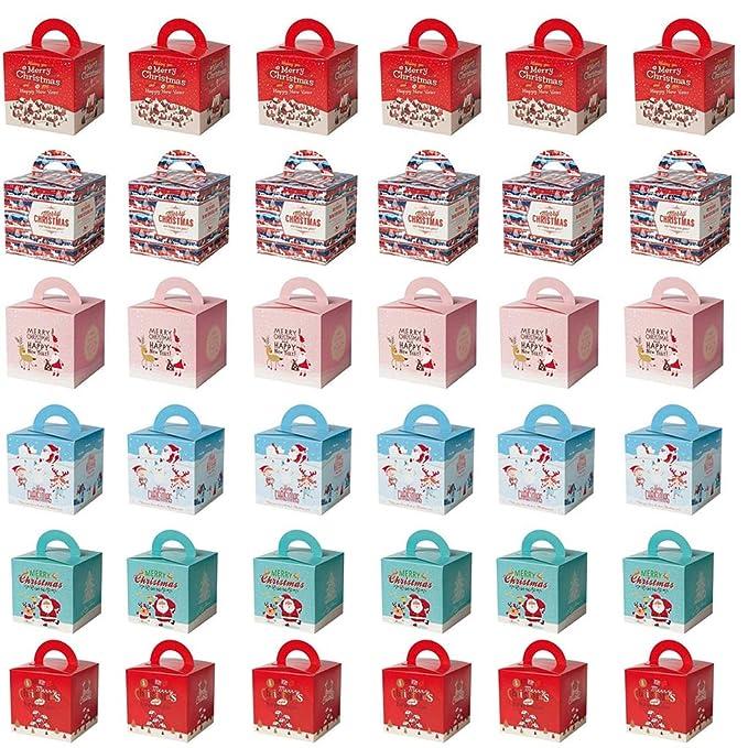 1 opinioni per Tumao 35pcs scatole Regalo,Scatola di Natale,Regali Festa Compleanno