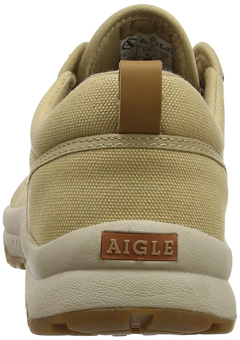 scarpe di tela bassa aigle