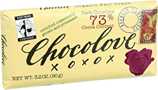 product image for Chocolove Xoxox Premium Chocolate Bar - Fair Trade Organic Dark Chocolate - 3.2 oz Bars - Case of 12 - 95%+ Organic - Kosher